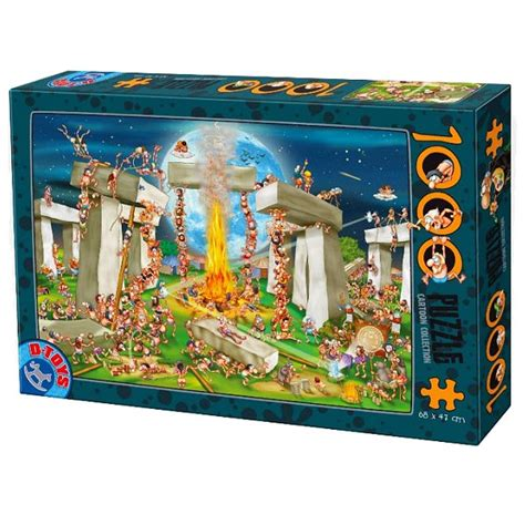 jigsaw puzzle 1000 pieces collection stonehenge dtoys 61218 cc02 1000 pieces