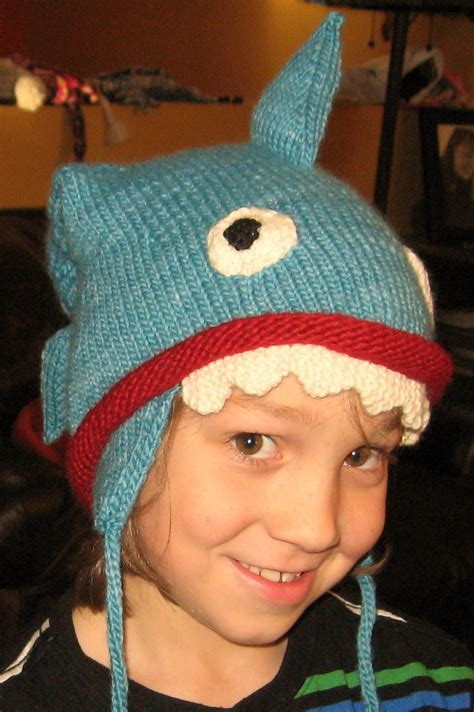 shark knit hat shark knitting patterns in the loop knitting