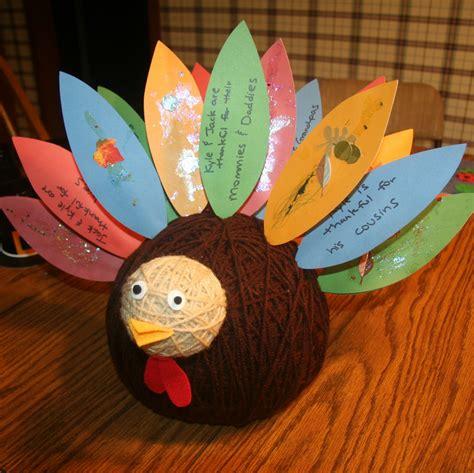 thanksgiving turkey crafts for preschool crafts for thanksgiving yarn turkey