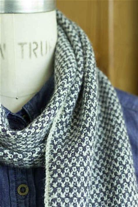 2 color knit scarf pattern 1000 ideas about linen stitch on knitting