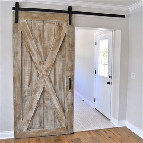 sliding door barn style home dzine home diy diy barn style sliding door