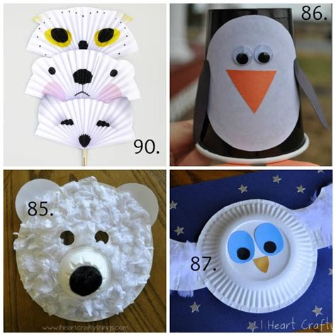 winter animal crafts for 100 winter crafts to beat the winter blues make