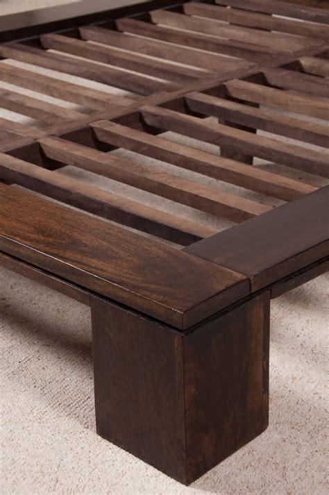 dakota bed frame solid mango wood bed frame casa indian