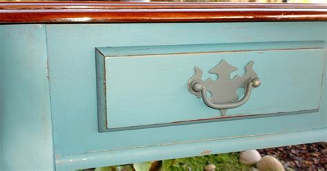 chalk paint visalia ca embellish restore aubusson blue entry table