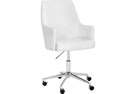 white chair for desk place white desk chair office chairs white