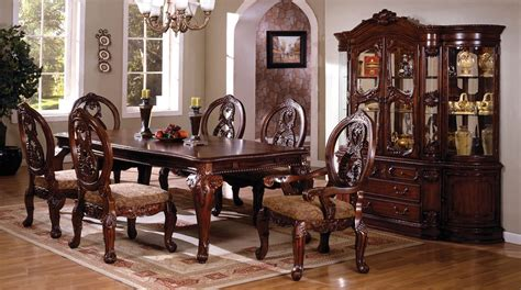 Ebay Dining Room Chairs dining room 7pc dining set formal dining table chairs