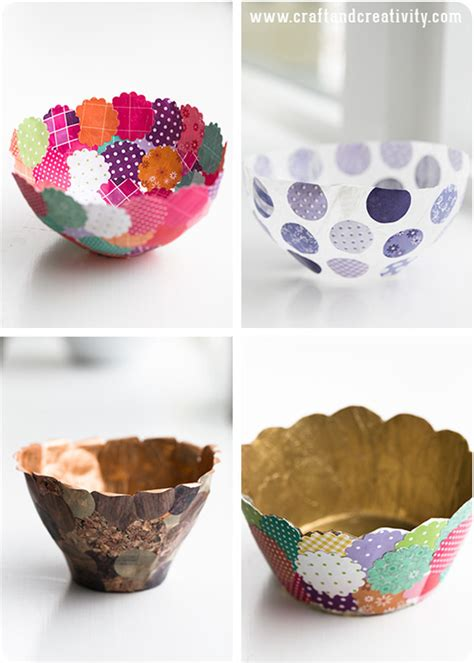 paper bowl crafts do it yourself ideas studio design gallery best design