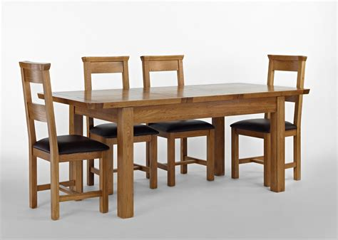 oak extending dining table and chairs knightsbridge oak extending dining table 4 or 6