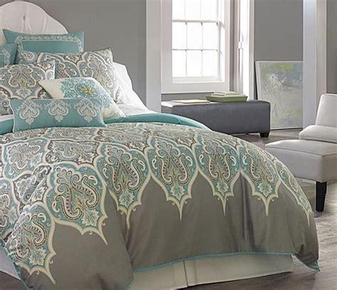 teal and grey comforter set 3 pc teal gray comforter set aqua blue grey