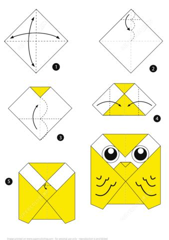 origami step by step easy origami owl www pixshark images