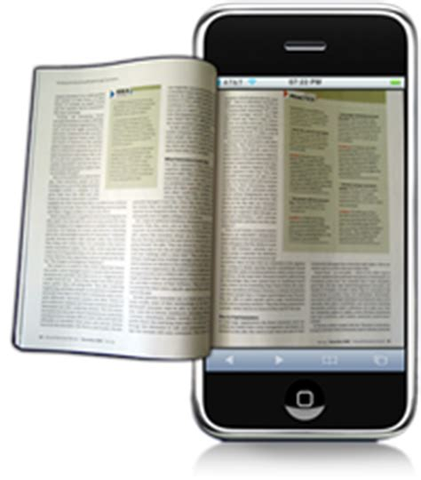 read mobile magazine articles optimized for reading on mobile phones