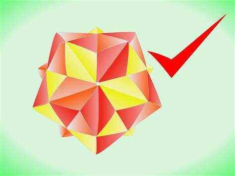 icosahedron origami how to make a modular origami stellated icosahedron