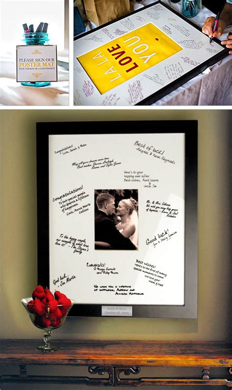 picture frame guest book ideas 20 creative guest book alternatives