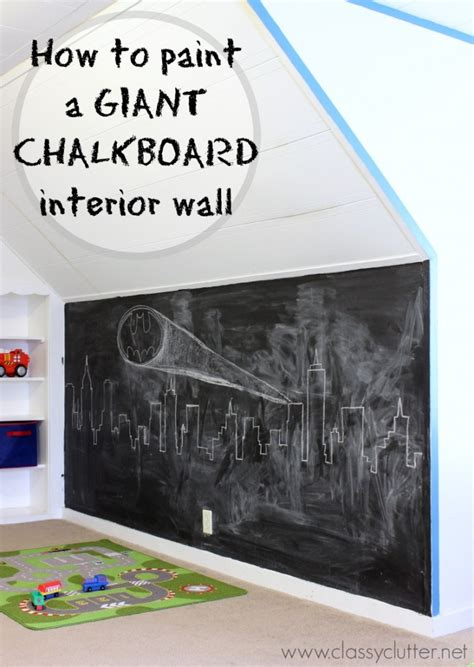diy chalk paint wall painting archives clutter