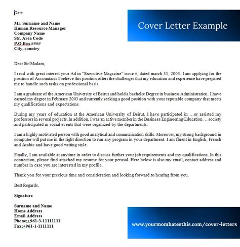 cover letter samples download free cover letter templates