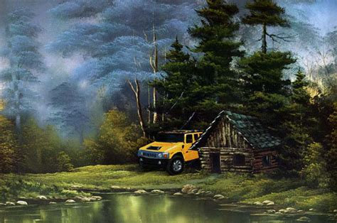 bob ross painting house mensvoort home of artist technologist and