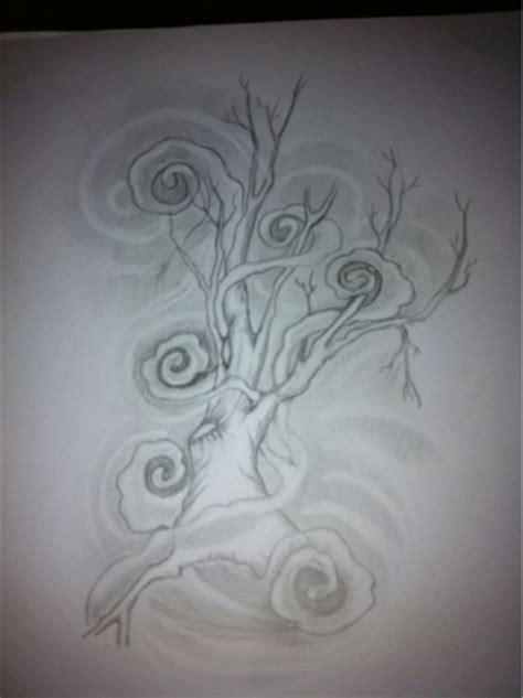 practicing smoke swirls tattoo by opiumdebonair on deviantart
