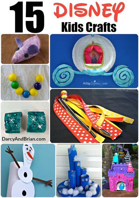 disney craft projects 15 disney themed crafts ideas