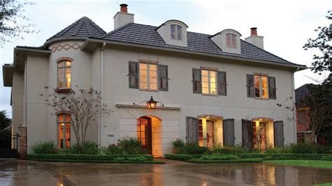 style home designs style house exterior chateau architecture provincial style house plans
