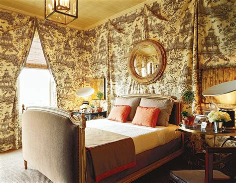 toile bedroom bedroom decorating ideas totally toile traditional home