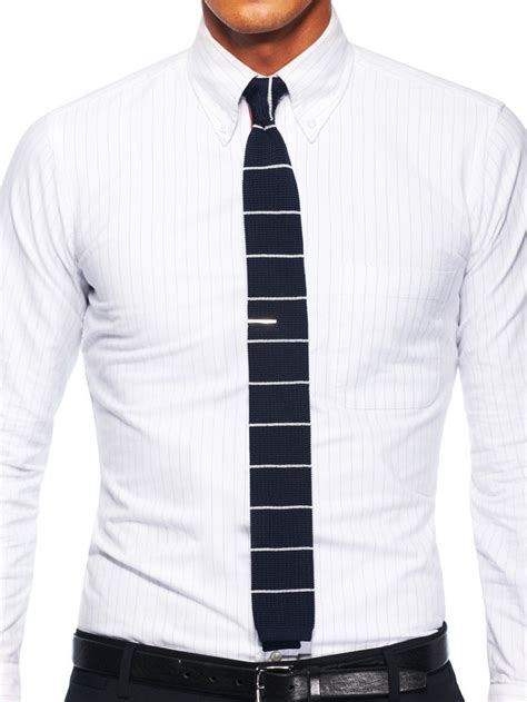 how to wear a silk knit tie horizontal striped knitted tie gentleman s club