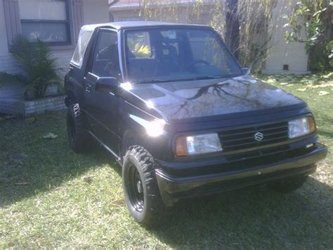 Lifted Suzuki Sidekick by 1994 Suzuki Sidekick 2 000 Possible Trade 100252899