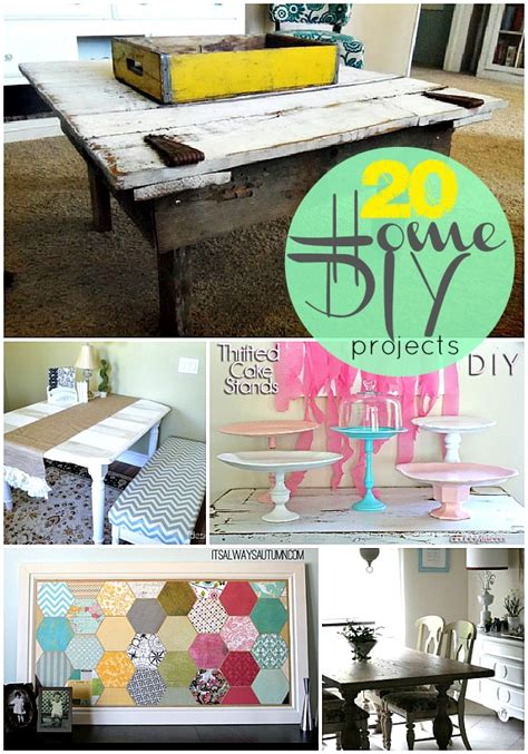 diy project 20 home diy projects to make this fall