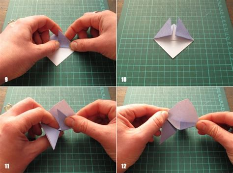 origami bookmark tutorial paper crafts for recycled origami bookmarks tutorial