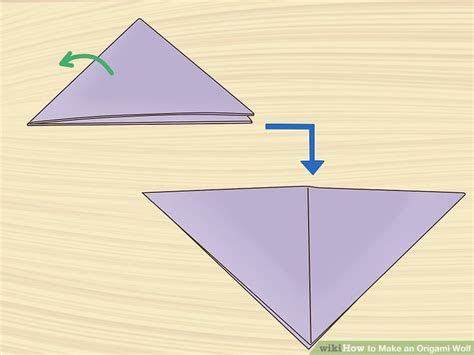 how to make a origami wolf step by step 75 wolf origami do origami origami folding