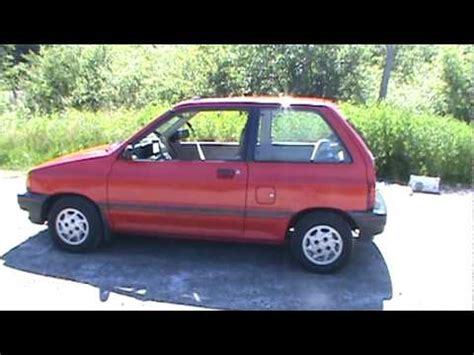 how cars work for dummies 1990 ford festiva transmission control 1990 ford festiva lx youtube