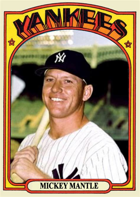 who makes baseball cards baseball sisco kid style mickey mantle hit the out