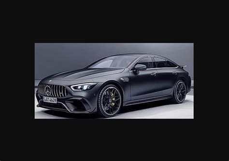 Mercedes Gt Coupe by 2019 Mercedes Amg Gt Coupe Looks Menacing In Alleged