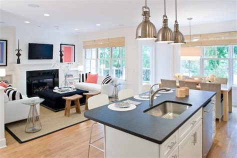 living room kitchen design small open kitchen living room designs beautiful