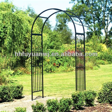 Garden Arch Home Hardware Wrought Iron Garden Arch Metal Fancy Curl Arbor For Your