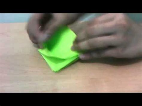how to make a origami creeper minecraft creeper origami tutorial