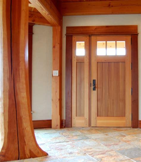 timber frame exterior doors new energy works