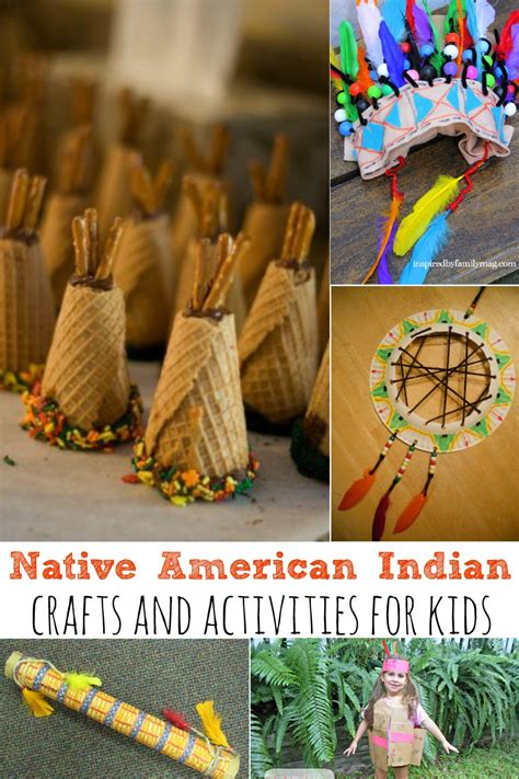 indian and craft for american indian crafts and activities for