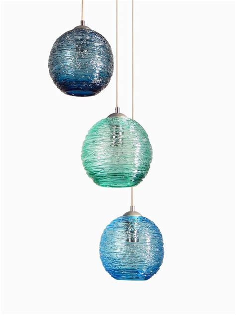 globe pendant chandelier made globe spun glass cluster pendant