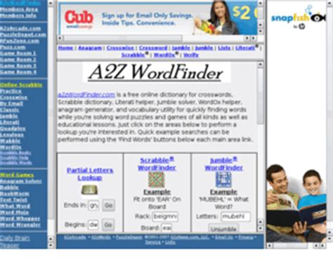 A2zwordfinder A2z Wordfinder Word Pattern Matching