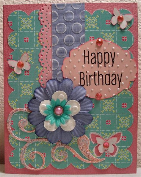 scrapbooking and card birthday card scrapbook sted cards