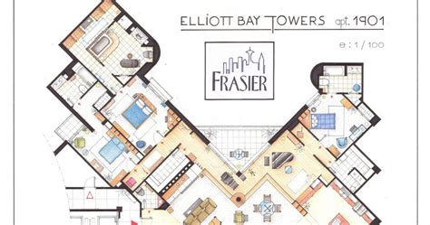 frasier floor plan southgate residential tv and houses dr frasier