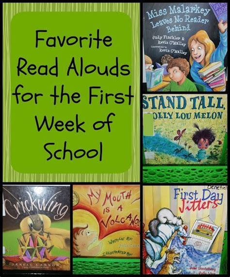 picture book read alouds for 4th grade favorite read alouds for the week of school