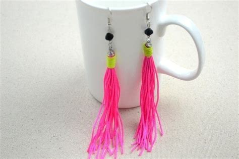 ideas for to make chic diy and craft ideas how to make diy tassel earrings