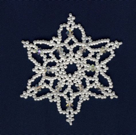 beaded snowflakes 17 best images about beaded snowflakes patterns