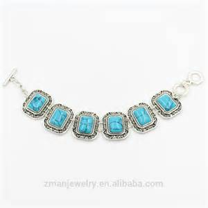 where to buy cheap for jewelry 2016 wholesale jewelry fashion turquoise chain bracelet