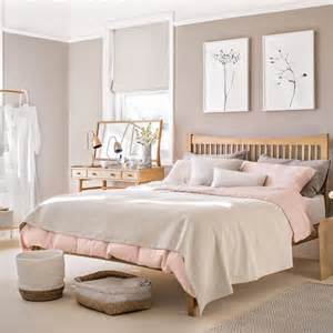 pink bedrooms bedroom with pale pink paint palette and wooden furniture