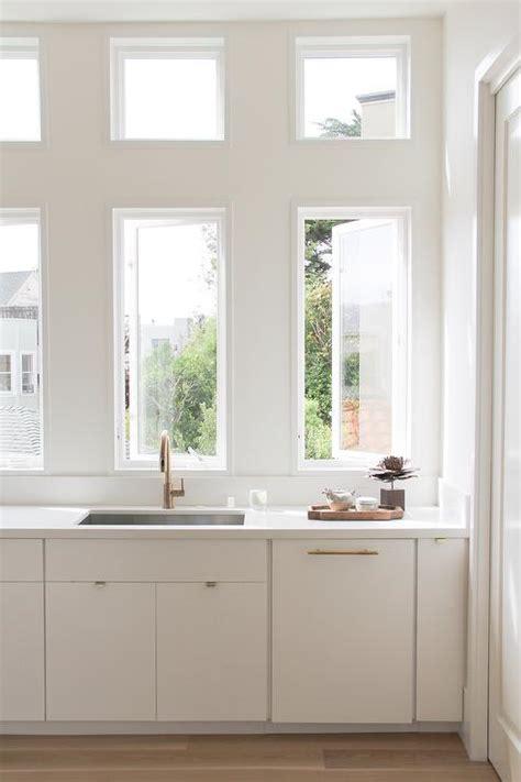 flat front kitchen cabinets cottage kitchen flat front cabinets design ideas