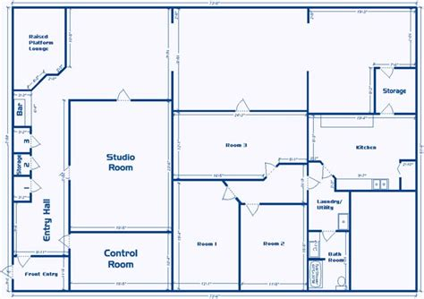 blueprint layout blueprint for two room studio studio design gallery
