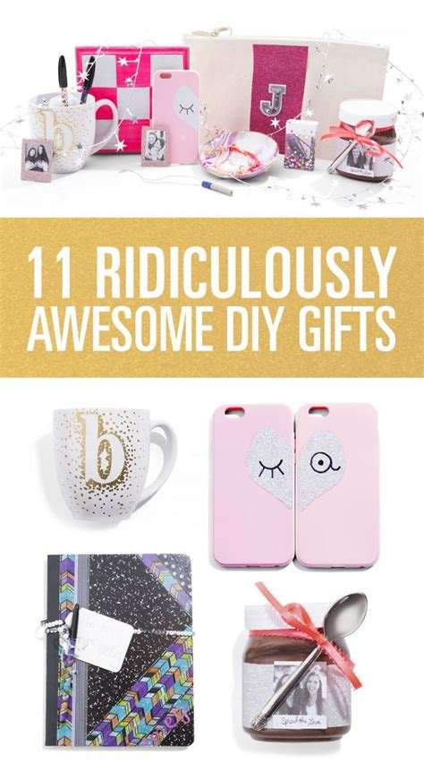 gifts for your friends 11 ridiculously awesome diy gifts for your bffs awesome