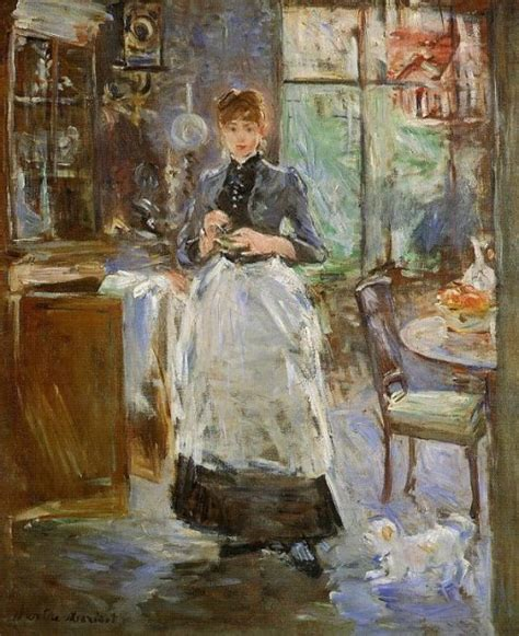 berthe morisot in the dining room impressionist painter berthe morisot will save